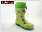 (Hot sale)Kids rubber rain boots/wellies boots/wellington boots