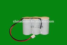 high temperature +70 degree 3.6v D type 4.0ah emergency light nicad batteries