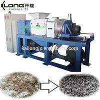 new design plastic film squeezing pelletizing machine for PE PP recycling line