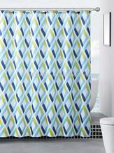Diamond Polyester Shower Curtain