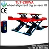 Stable and hot sale LAUNCH TLT830WA motorcycle scissor lift platform used