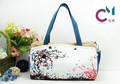 2014 popular estilo chinês pintados à mão lona bolsa de ombro bolsa