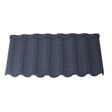 Blue metal light weight color steel asphalt shingle roof tiles