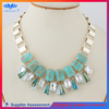 FREE SAMPLE YIWU FACTORY chunky alloy statement necklace