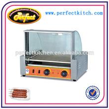 hot dog grill roller/hot dog roller making machine