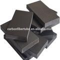 3k preto textura de fibra de carbono folha da tira/placa/, placa de carbono, placas compostas