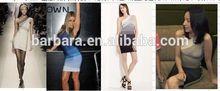 2014New Arrival Fashion Women beautiful mature women bandage dress