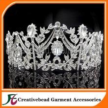 2014 Fashion bridal wedding tiara and rhinestone crowns