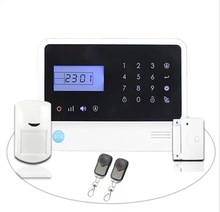 Fashion home alarm system display at HK Fair,GSM alarm|wireless alarm system for house residence