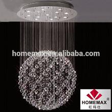 13 light decorative crystal pendant lamp