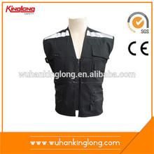 Many pocket reflecitve safety motorcycle protective vest