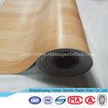 Reciclado madeira pvc piso de plástico no escritório