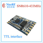 433MHz 100mW TTL interface 433.92mhz wireless distance rf receiver shenzhen network module