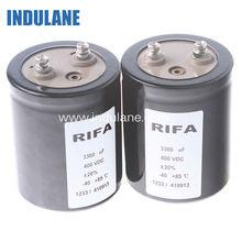 Rifa Film Capacitors leaded Capacitor 3300uF 400VDC 1233/410913