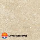 Stone-like rustic tiles, beige color