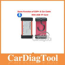 New Bluetooth Multidiag Pro+ interface for Cars/Trucks OBD2 4GB Card Car Cables Multi-diag Pro+ auto Multidiag scanner --Hot