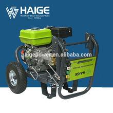Haige 6.5hp 4 stroke plunger pump gasoline high pressure washer hot,cold water pressure washer