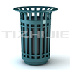 Eco-friendly Steel Equipment for Recycle,Home Backyard Garbage Bins for Sale,Factory Price Iron Trash Can
