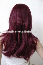 Qingdao quality guaranteed Japanese Kanekalon high temperature synthetic fiber hair wig