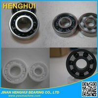 "chrome steel ring hybrid/full Si3N4 ZrO2 SIC ceramic ball bearing R16 2RS 1""x2""x3/8"""