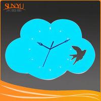 High quality acrylic clock oem acrylic flip clock