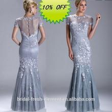 Hot Sale Long Elegant Evening Dress Shoulders Covered