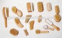 Wood Handle Pumice Stone Bristle pedicure dead skin Brush for Bath Hard Dead Skin Remover