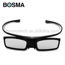 Active Shutter 3D glasses support IR and BT signal for /sony/ChangHong/ Samsung// LG/ PANASONIC 3D TVS