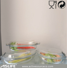 ASC9183-1700ml 57.43oz Eco-Friendly Microwave Baking Glass Plates With Glass Lid!Pyrex Microwave Dishes&Plates With Glass Covers