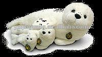 high quality sea animal stuffed plush lying seal toy