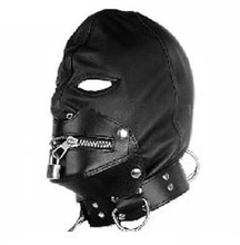 Sexy Adult Novelty Product Sex Toy Full Hood Full Mask