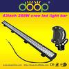 43inch super bright 12v 24v truck cree led trailer light bar