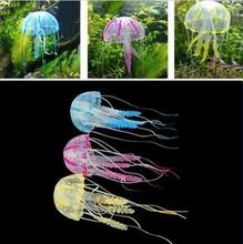 Aquarium Decorative Glowing Simulation Jellyfish Fish Tank Ornament Hot Selling
