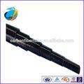 Customing telescópica redondo de tubo de carbono, personalizado de fibra de carbono tubo telescópico