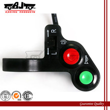 BJ-SW-004 High quality custom blcak handlebar horn switches motorcycle