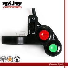 BJ-SW-004 High quality custom blcak handlebar horn switches motorcycle