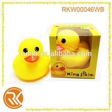 Rubber Yellow Duck For Kids slush molding animal