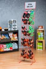 Wire Bottle Rack Soda Display Rack