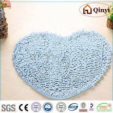 NEW HANSE chenille bath mat/ adult portable modern bath HS-B520 / Chenille mat-QINYI