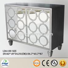 mirror glass kitchen cabinet gas spring