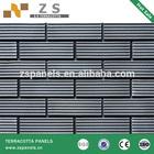 split tile 60*240*11mm terracotta brick china hard coating yellow red ceramic wall good qualitywaterproof epoxy coating
