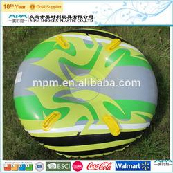 plastic pvc inflatable snowmobile
