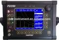 ndt applications FD350 Big LCD, IP65 Portable ultrasonic testing steel equipments
