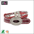 américa 2014 nueva llegada de venta al por mayor de diamantes de imitación occidental cinturones