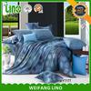 Luxury wholesale 3d bedding set quilt,microfiber comforter set/300tc sateen sheet set