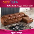 alta qualidade de italiano moderno genuíno grande barato novo sofá em l projetos a828l