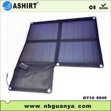 2014 Black High-efficient Mobile Phone 40W Portable Solar Panel
