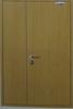 wood anti fire door with oak veneer frame