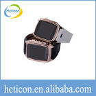 wholesale cheper watch cell phone Steel Case Quad Band GD910i Watch Phone