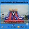 2014 Sunjoy pvc inflatable double lane slip slide, factory price
